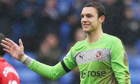 Alex McCarthy was outstanding for Reading