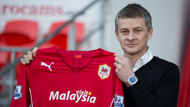 Ole Gunnar Solskjaer named as Cardiff City manager – video