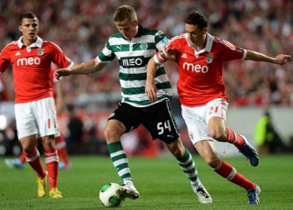 Dier in action for Sporting