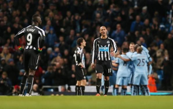 Manchester City v Newcastle United - Barclays Premier League