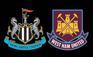 Newcastle United West Ham United Badges