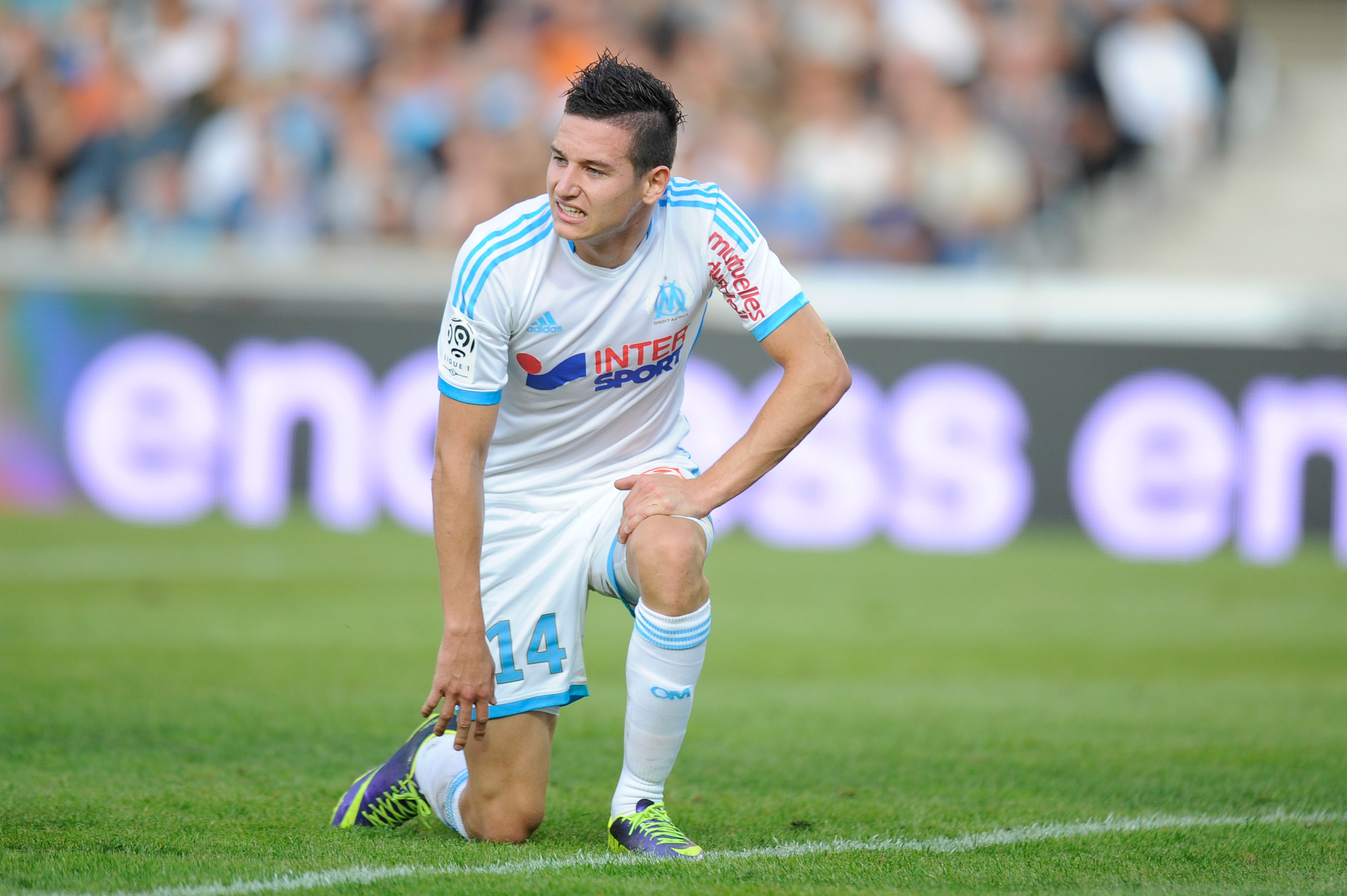 Deception de Florian THAUVIN - 26.10.2013 - Marseille / Reims - 11e journee de Ligue1 Photo: Amandine Noel / Icon Sport
